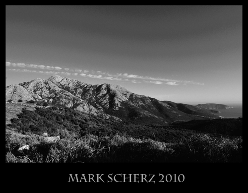 Corsica in Black and White 3