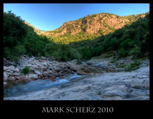 Corsica mountain stream in HDR 1