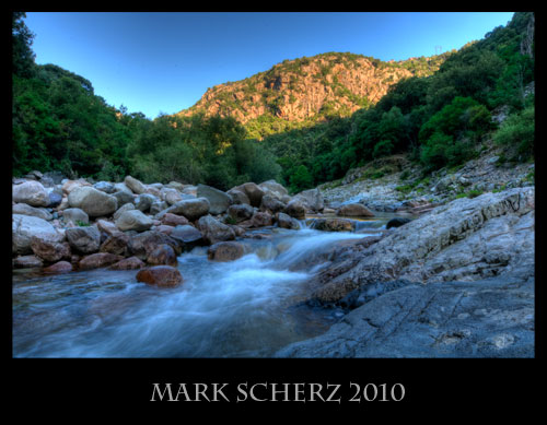 14mm Corsican Mountain Stream HDR