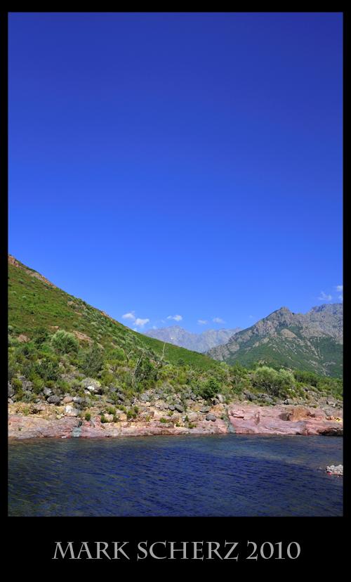 Mountain River in Corsica