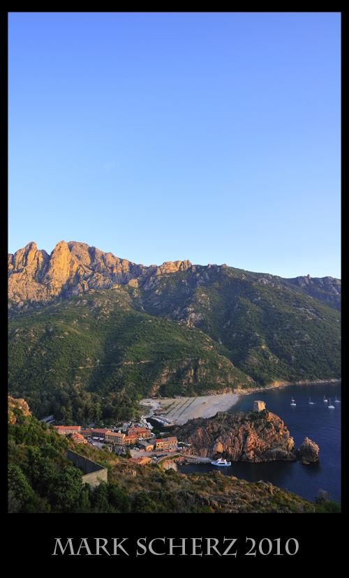 Porto from Above, Corsica