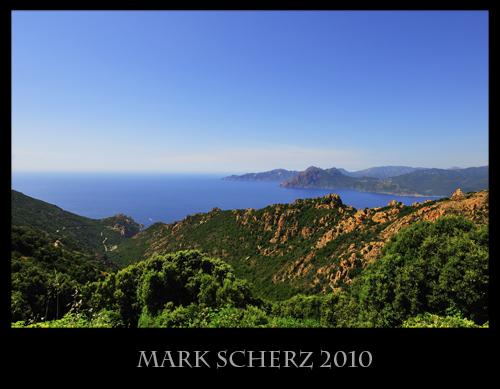 The Gulf of Porto, Corsica